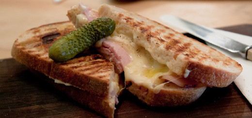Croque Monsieur - Foto by Pauline Mak