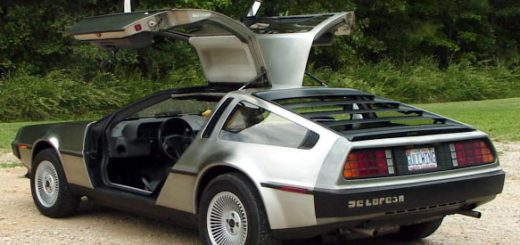 //en.wikipedia.org/wiki/Image:Back_left.JPG Back left side of a DeLorean DMC-12 - copyright 2005, The Quintessential DeLorean Website www.babbtechnology.com